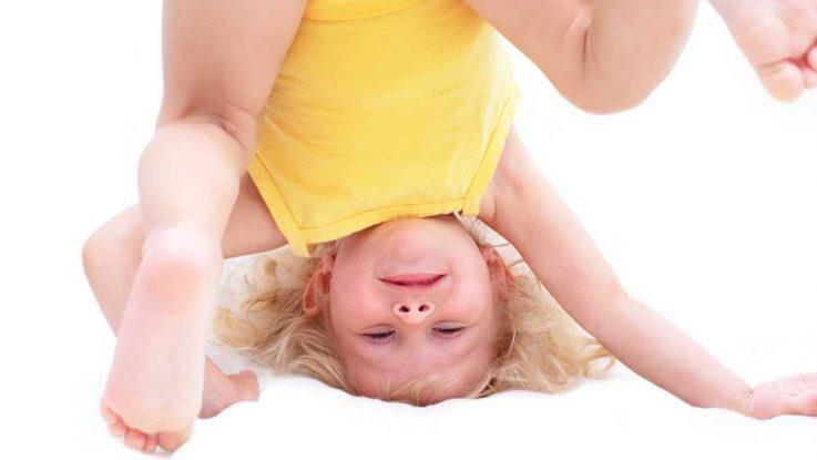 Jak naučit dítě kotrmelec
