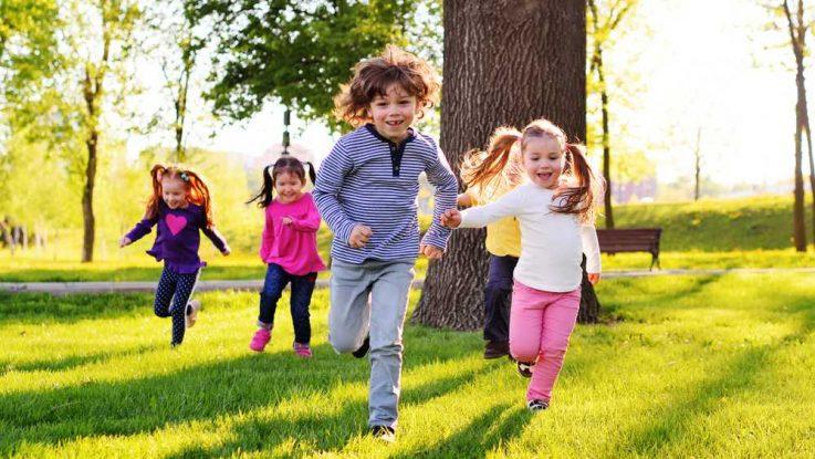 Jak naučit děti běhat