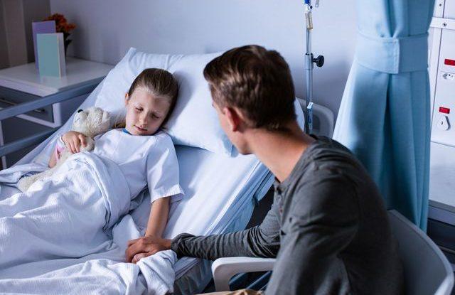 Děti v nemocnici