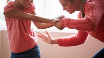 Fyzické tresty u dětí