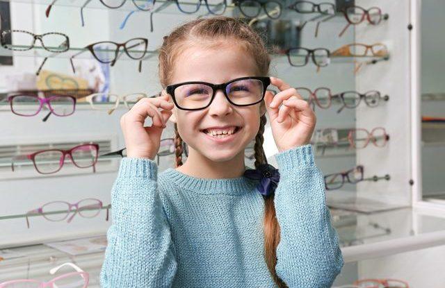 Brýle a děti