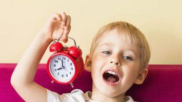 Děti a čas