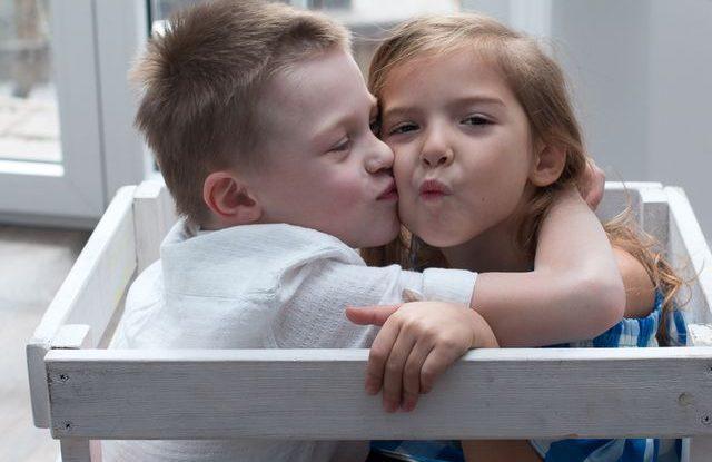 Děti a intimita
