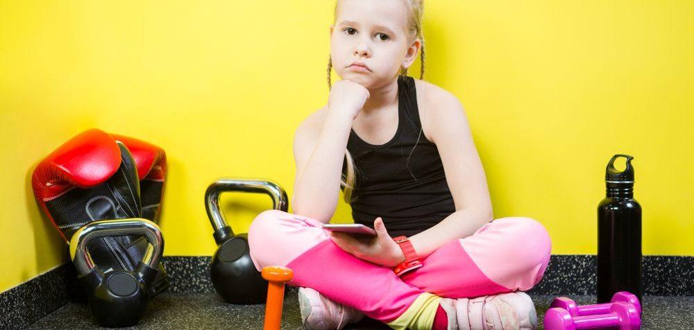 Dítě nechce sportovat