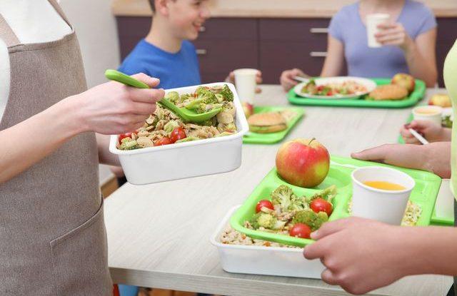 Školní jídelny