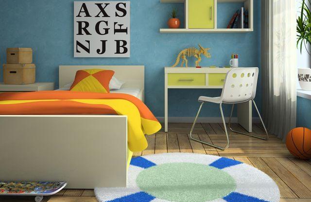 Dětský pokoj pro školáka