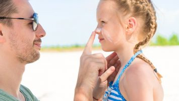 Alergie na slunce u dětí