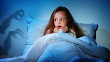 Strach ze tmy u dětí