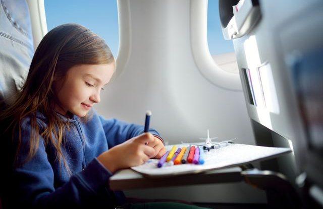 Létání s dětmi