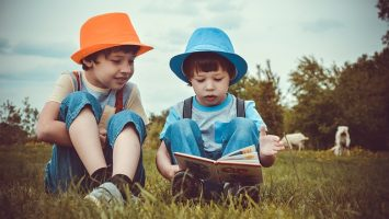 Láska ke knihám u dětí