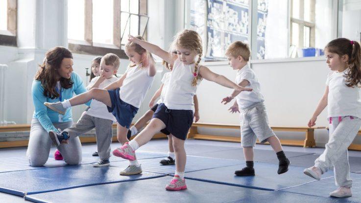 Cvičení u dětí