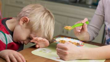 Nechuť dětí k novému jídlu