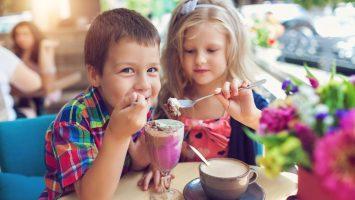 Děti v restauraci